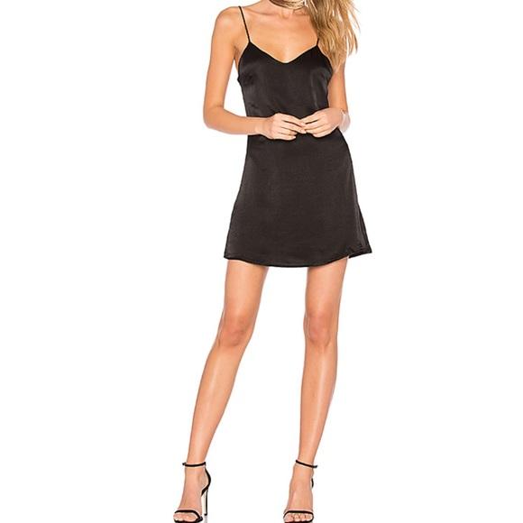 f62296b30c35 MAJORELLE Dresses | Black Slip Dress Size S | Poshmark